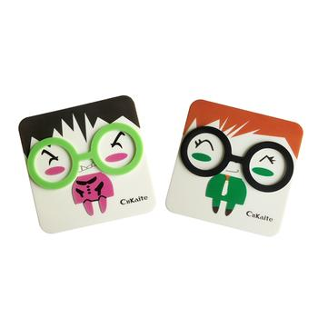 凯达隐形眼镜伴侣盒-眼镜风尚A8081