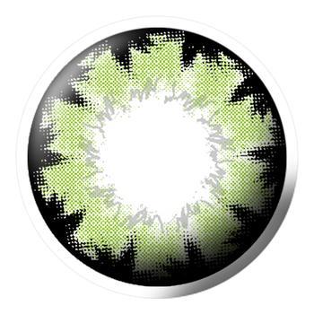 Q-MIX混血精灵美妆彩片-绿