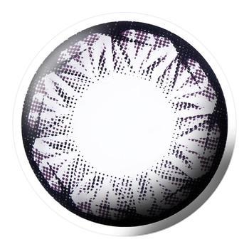 Bescon星钻系列美瞳彩色隐形眼镜1片装-半年抛-紫色