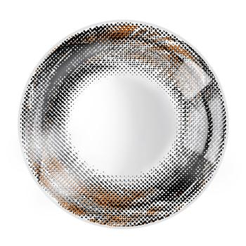 JUST COLOR美瞳彩色隱形眼鏡年拋(X410)-漩渦の羽-彩黑
