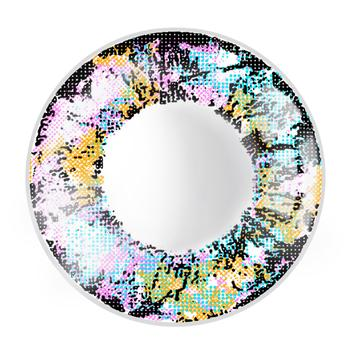 JUST COLOR美瞳彩色隐形眼镜年抛(X414)-绝色-彩蓝