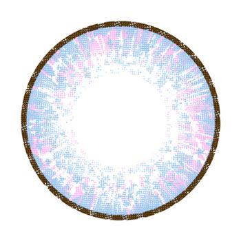 JUSTCOLOR美妆彩片-初见-蓝